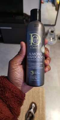 Design Essentials - Almond & Avocado - Lotion hydratante