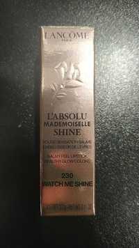 Lancôme - L'absolu mademoiselle shine - Rouge sensation baume