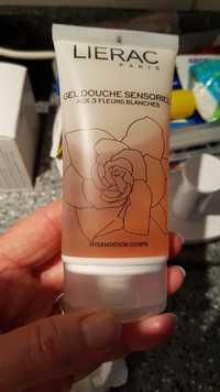 LIÉRAC - Gel douche sensoriel aux 3 fleurs blanches