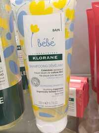 Laboratoires Klorane - Bébé - Shampooing démêlant