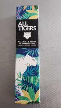 All Tigers - Natural & vegan - Rouge à lèvres liquide