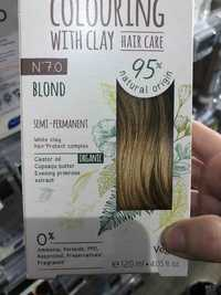 Cattier - Colouring with clay semi-permanent N° 7.0 blond