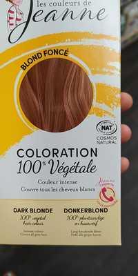 LES COULEURS DE JEANNE - Coloration 100% végétale blond foncé