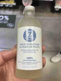 GRAINE DE PASTEL - Huile de massage à l'huile de pastel