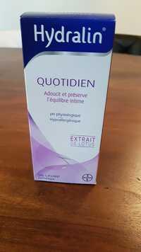 Hydralin - Quotidien - Adoucit et préserve l'équilibre intime Gel lavant