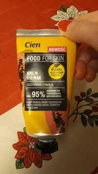 CIEN - Food for skin - Krem do rak
