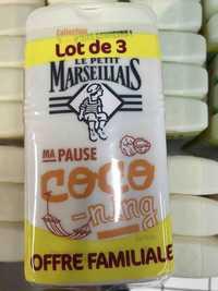 LE PETIT MARSEILLAIS - Ma pause coco-ning - Gel douche