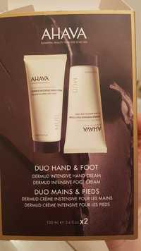 Ahava - Duo mains & pieds