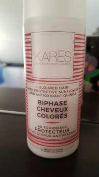 Karès - Biphase cheveux colorés