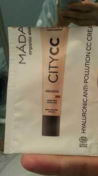 MÁDARA - City CC - Hyaluronic anti-pollution CC cream SPF 15