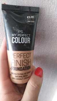 Primark - PS... my perfect colour - Perfect finish foundation
