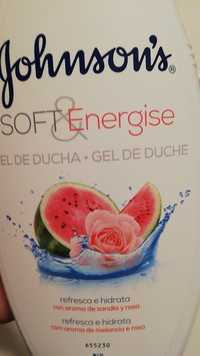 Johnson's - Soft & energise - Gel de duche