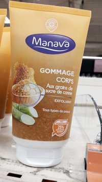 Marque Repère - Manava - Gommage corps aux grains de sucre de canne
