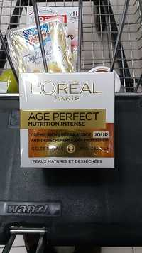 L'Oréal - Age perfect nutrition intense