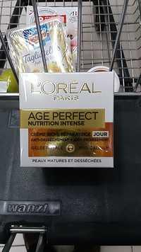 L'ORÉAL - Age perfect nutrition intense
