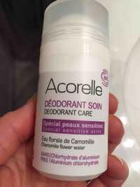 ACORELLE - Déodorant soin spécial peaux sensible