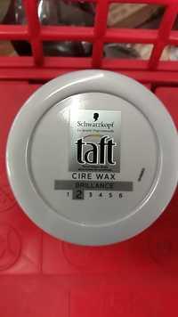 Schwarzkopf - Taft Cire Wax Brillance cire coiffante