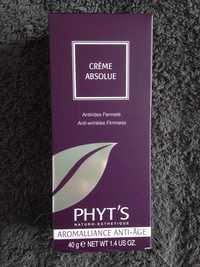 Phyt's - Crème absolue - Anti-rides fermeté