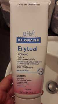 Klorane - Eryteal - Liniment toilette des peaux iritées