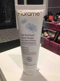 FLORAME - Gel exfoliant doux visage aux eaux florales bio