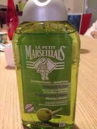 Le petit marseillais - Force & eclat - Shampooing aux aux extraits de pomme et de feuilles d'olivier