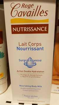 ROGÉ CAVAILLÈS - Nutrissance - Lait corps nourrissant - Surgras vitaminé
