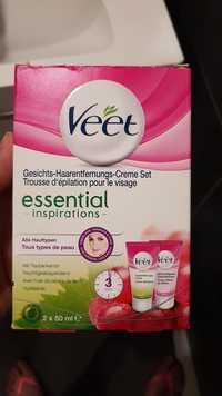 Veet - Essential inspirations - Trousse d'épilation pour le visage