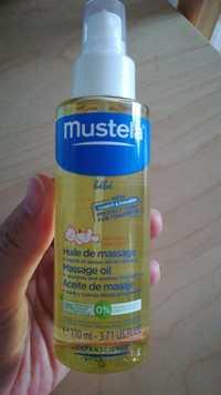 Mustela - Bébé - Huile de massage