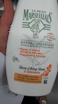Le petit marseillais - Sève d'aloe vera & calendula - Lait hydratant