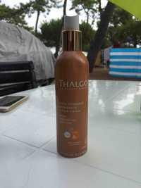 THALGO - Huile satinante bronzante corps & cheveux - SPF 6