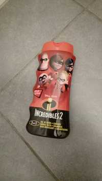 Lorenay - Incredibles 2 - Bain moussant shampooing 2 en 1