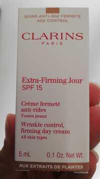 CLARINS - Crème fermeté anti-rides spf 15