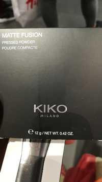 KIKO - Matte fusion - Poudre comptacte