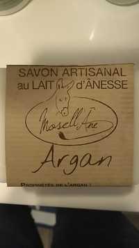 Mosell'Âne - Argan - Savon artisanal au lait d'ânesse