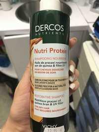 VICHY - Dercos nutri protein - Shampooing nourrissant