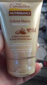 ROGÉ CAVAILLÈS - Nutrissance - Crème mains Veloutante