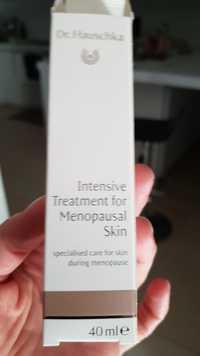 DR. HAUSCHKA - Intensive treatment for menopausal skin