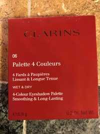 Clarins - Palette 4 couleurs - 4 fards à paupières