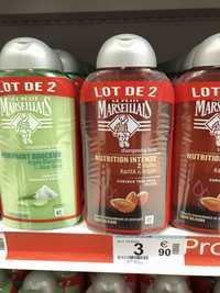 LE PETIT MARSEILLAIS - Shampooing doux purifiant douceur - Shampooing huile nutrition intense