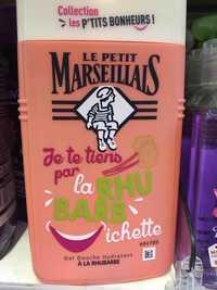 LE PETIT MARSEILLAIS - Gel douche hydratant à la rhubarbe