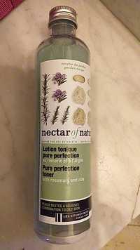 LES COSMÉTIQUES DESIGN PARIS - Nectar of nature - Lotion tonique pure perfection