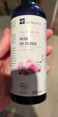 Ad Naturam - Rose de Damas - Eau florale bio