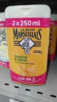 Le petit marseillais - Verveine & citron - Gel douche extra doux