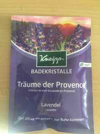 Kneipp - Lavande - Cristaux de bain escapade en Provence
