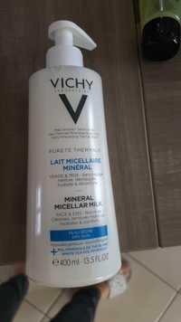 VICHY - Pureté thermale - Lait micellaire minéral
