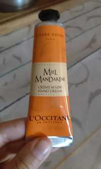 L'OCCITANE - Miel mandarine - Crème mains