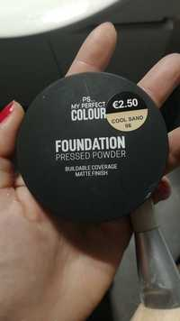 Primark - PS... my perfect colour - Foundation pressed powder - Cool sand 06