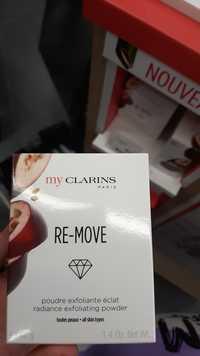 CLARINS - My clarins re-move - Poudre exfoliante éclat