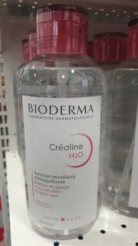 Bioderma - Créaline H2O - Solution micellaire démaquillante