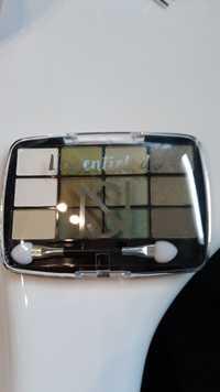 Europ Cosmetics - L'essentiel de NS - Ombres à paupières n°02 vert